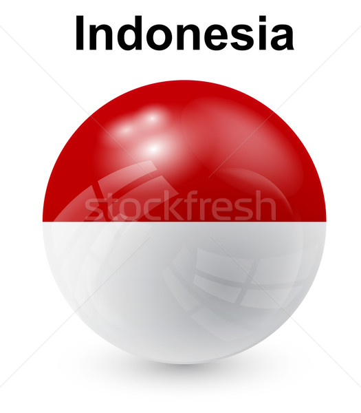 indonesia official state flag Stock photo © dip