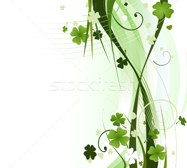 Stock photo: design for St. Patrick's Day