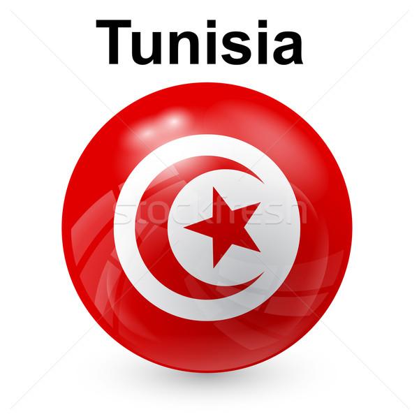 チュニジア フラグ 世界 にログイン ボール 色 ストックフォト © dip