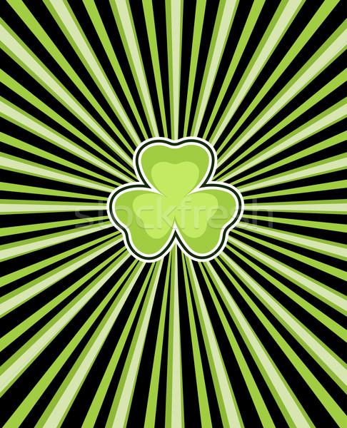 клевера День Святого Патрика весны счастливым фон знак Сток-фото © dip
