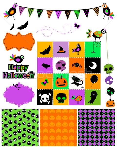 Halloween design elements Stock photo © dip