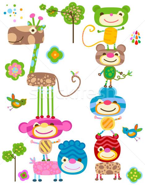 cute animals Stock photo © dip