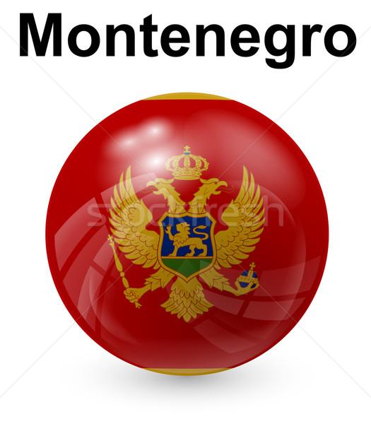 Montenegro officieel vlag ontwerp wereld teken Stockfoto © dip