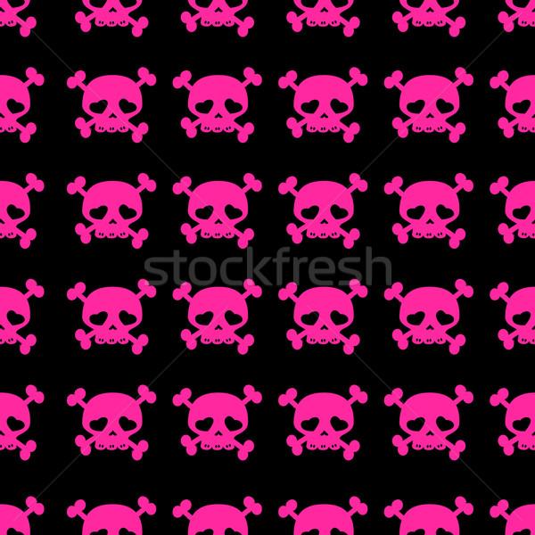 skulls on crossbones Stock photo © dip