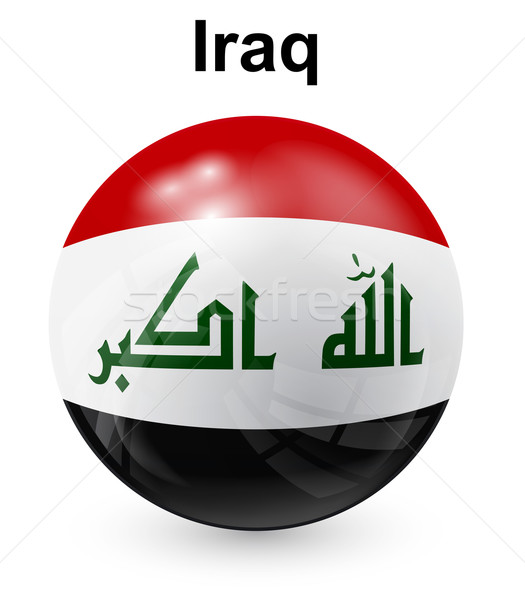 iraq official state flag Stock photo © dip