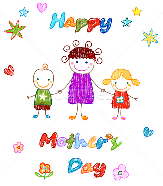 happy mother`s day  Stock photo © dip