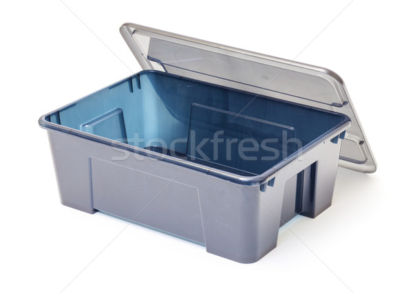 Empty Plastic Container with Lid Stock photo © Discovod