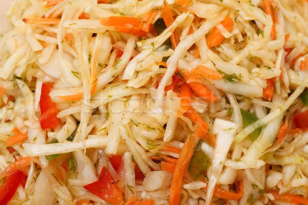 капустный салат фото Салат морковь растительное Сток-фото © Discovod