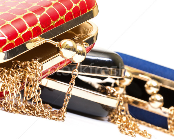 Fashionable female open handbags Stock photo © Discovod