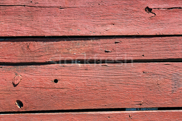 Old Painted Wood Plank with Texture Stock photo © Discovod
