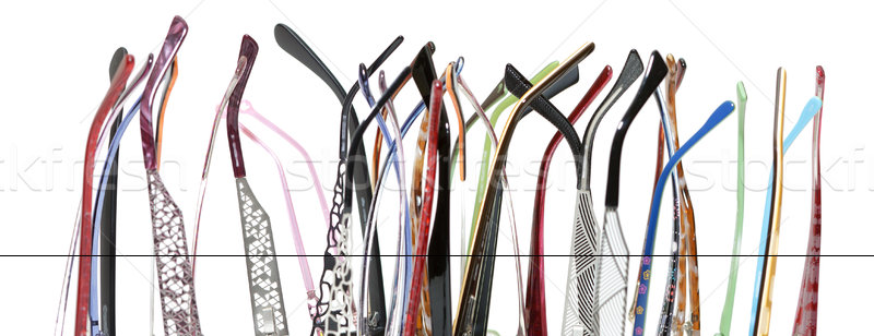 a lot of earpiece glasses Stock photo © Discovod