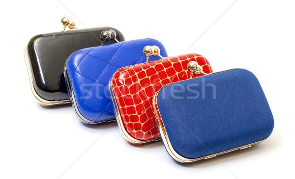 Fashionable female handbags Stock photo © Discovod