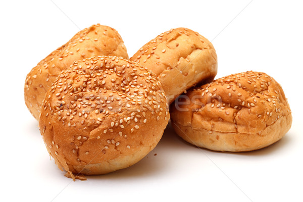 Heap Appetizing Buns with Sesame Stock photo © Discovod