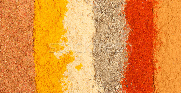 spices background Stock photo © Discovod