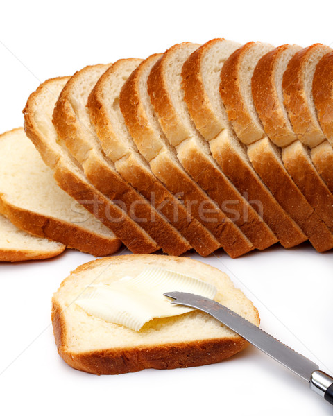 Slices of Wheat Bread with Butter Stock photo © Discovod