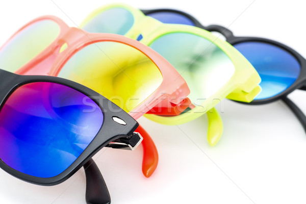 Few Very Bright Sunglasses Eyewear Stock photo © Discovod