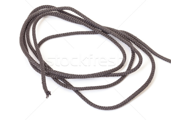 Roll of dark cord Stock photo © Discovod