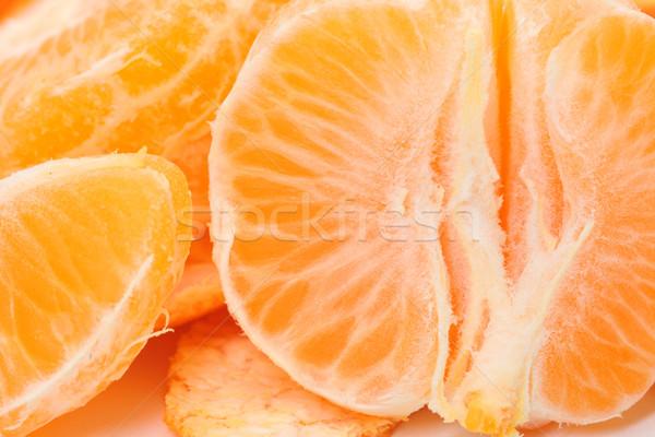 Pelé photo alimentaire orange Photo stock © Discovod