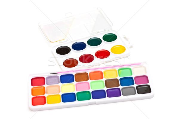 set watercolor Stock photo © Discovod