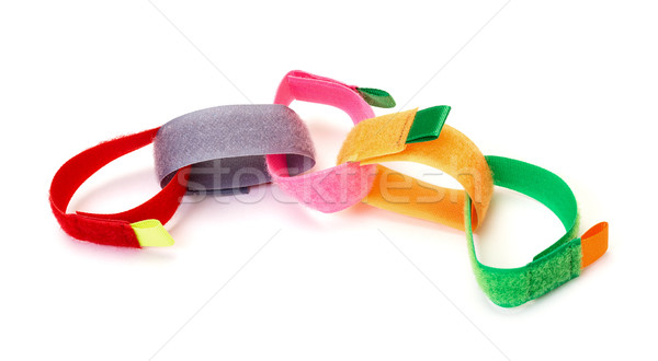 Chain from Colorful Velcro Strips Stock photo © Discovod