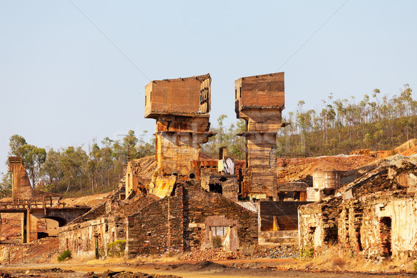 Abandoned copper mine Stock photo © Discovod