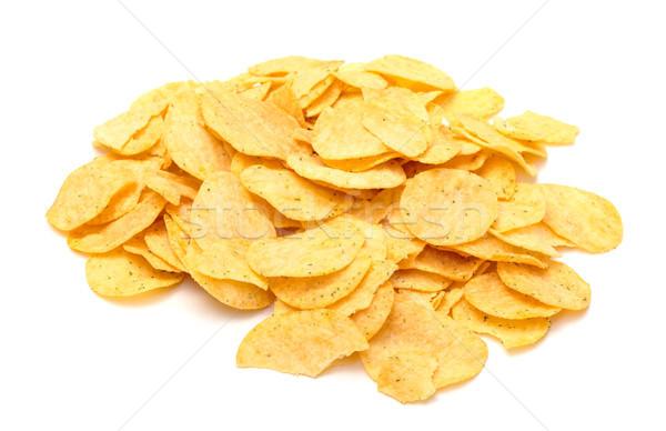 Croccante bianco grasso veloce chip Foto d'archivio © Discovod