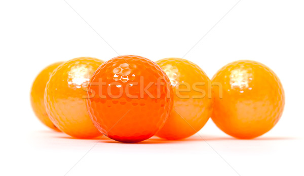 Orange or golf blanche texture Photo stock © Discovod