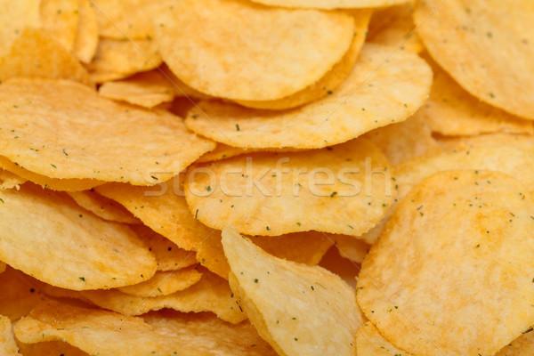 Crujiente primer plano grasa almuerzo rápido Foto stock © Discovod