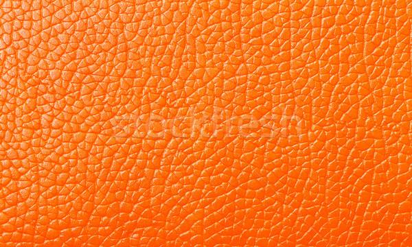 Сток-фото: оранжевый · кожа · текстуры · фон
