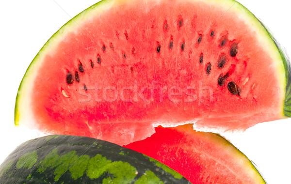 Sliced ripe fresh watermelon Stock photo © Discovod