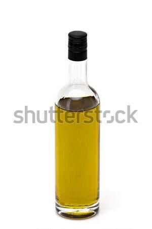 Garrafa azeite branco fresco italiano erva Foto stock © Discovod