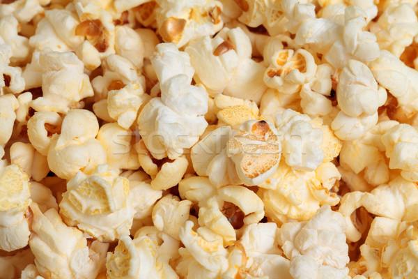 Pipoca foto amarelo fundo milho Foto stock © Discovod