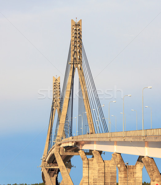 Cable-Stayed Bridge Stock photo © Discovod