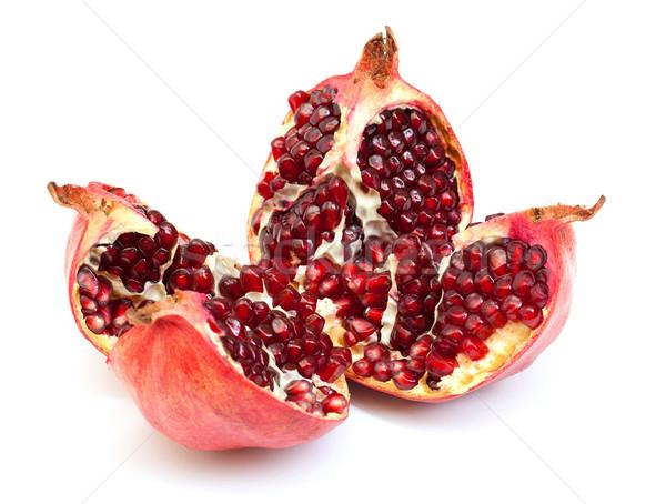 Broken pomegranate fruit Stock photo © Discovod