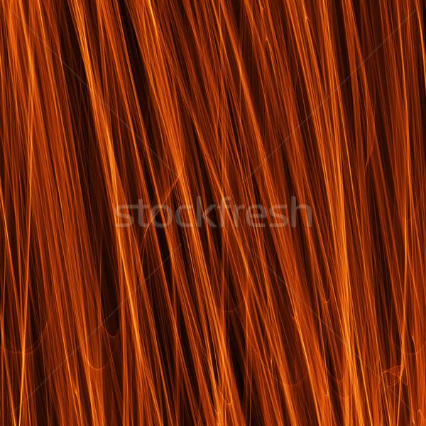 Chama abstrato projeto textura arte Foto stock © Discovod