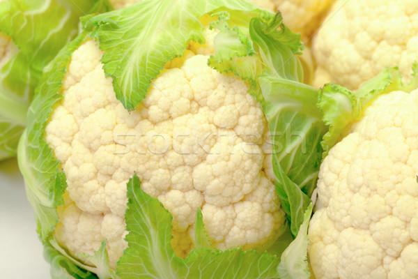 キャベツ カリフラワー クローズアップ 食品 庭園 健康 ストックフォト © Discovod