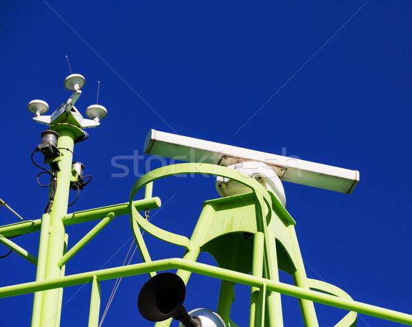 Radar ciel bleu ciel mer technologie océan Photo stock © Discovod