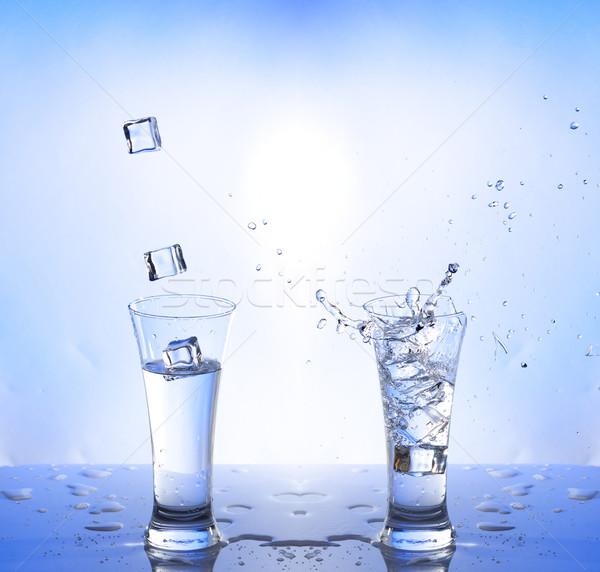 Résumé santé beauté boire vague Photo stock © Discovod