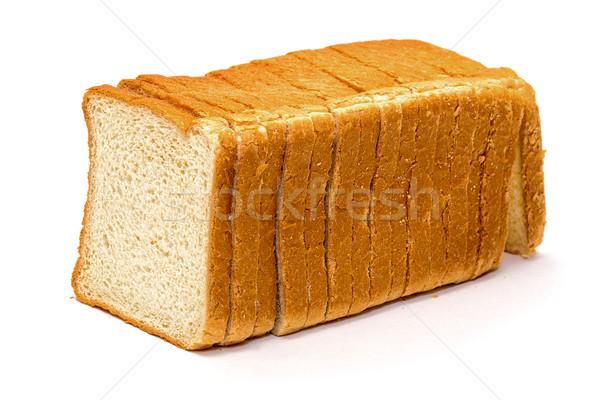 пшеницы хлеб изолированный белый продовольствие Сток-фото © Discovod