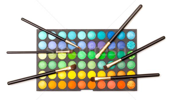 набор волос оранжевый синий черный Сток-фото © Discovod