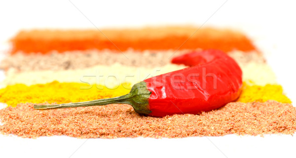 spices and chili pepper Stock photo © Discovod