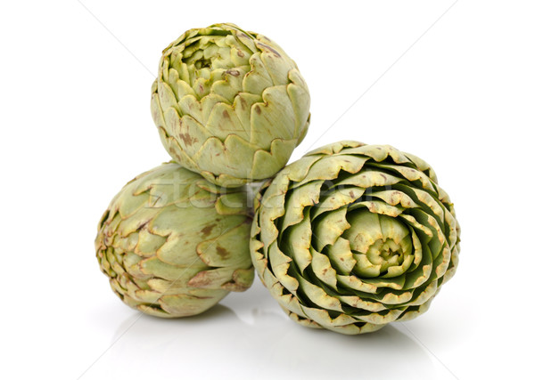 Fresh artichoke Stock photo © Discovod