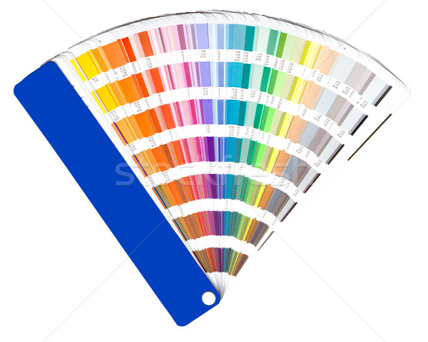 Stock photo: color guide swatch
