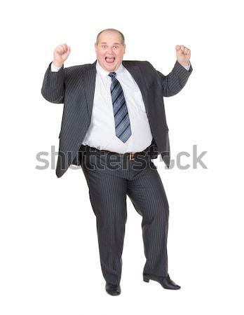 太り過ぎ ビジネスマン 白 執行 マネージャ ストックフォト © Discovod