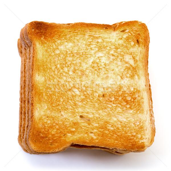 Bochenek żywności kanapkę stałego toast Zdjęcia stock © Discovod