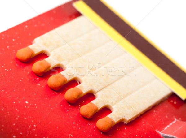 Colorful Matchbook Stock photo © Discovod