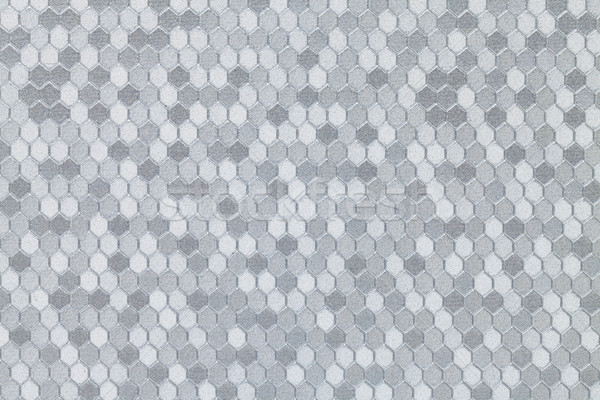 серебро шестиугольник аннотация кожа шаблон Сток-фото © Discovod