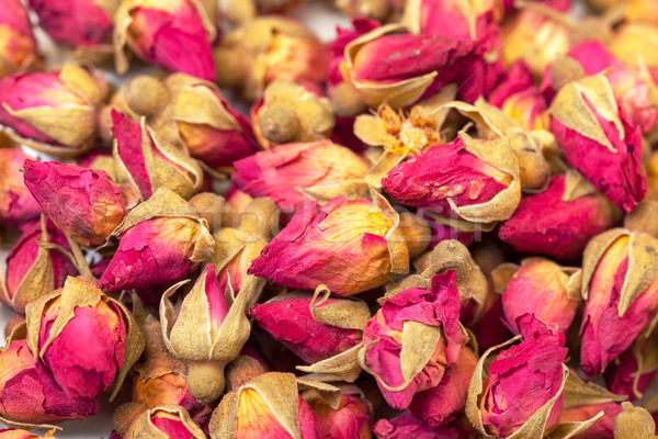 Background of Heap Dried Rosebuds Stock photo © Discovod