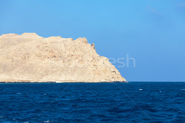 Mar nu montanha ondulado blue sky natureza Foto stock © Discovod
