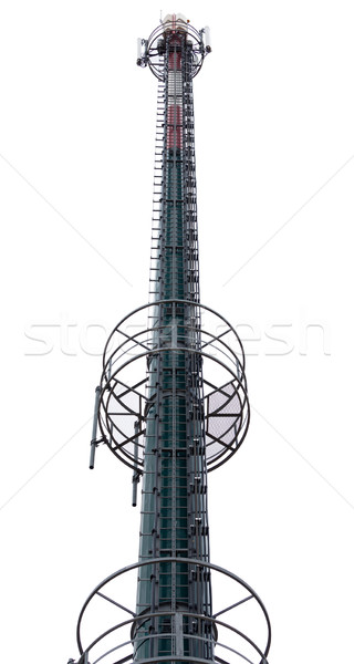 Cellulaire communicatie toren witte telefoon telefoon Stockfoto © Discovod